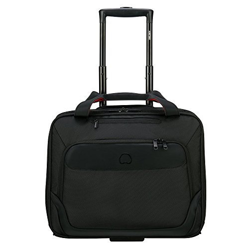 delsey parvis plus laptop rollkoffer 42 cm 19 liters schwarz noir g nstig online kaufen und. Black Bedroom Furniture Sets. Home Design Ideas