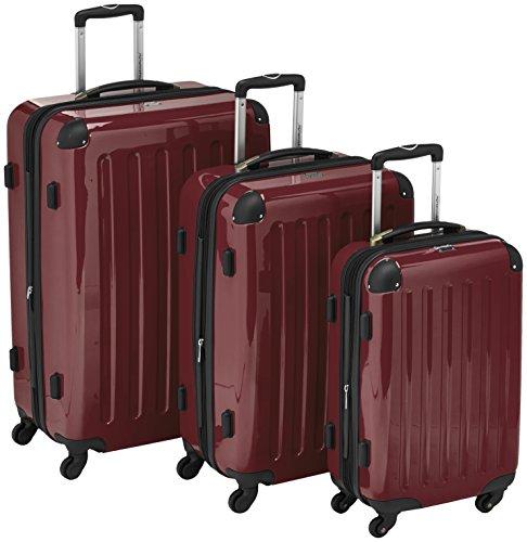 hauptstadtkoffer alex 3er koffer set trolley set rollkoffer reisekoffer erweiterbar 4. Black Bedroom Furniture Sets. Home Design Ideas