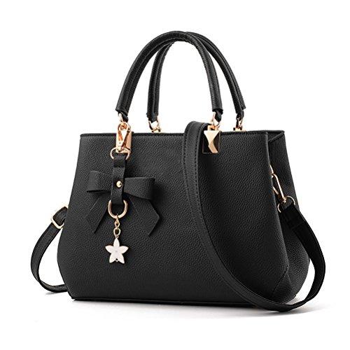 uraqt damen handtaschen schulterbeutel frauen stilvolle pu designer schultertasche taschen. Black Bedroom Furniture Sets. Home Design Ideas