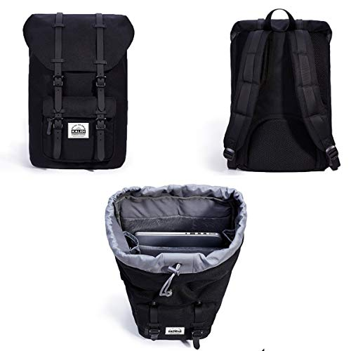 kalidi 17 zoll laptop rucksack backpack schulrucksack f r. Black Bedroom Furniture Sets. Home Design Ideas
