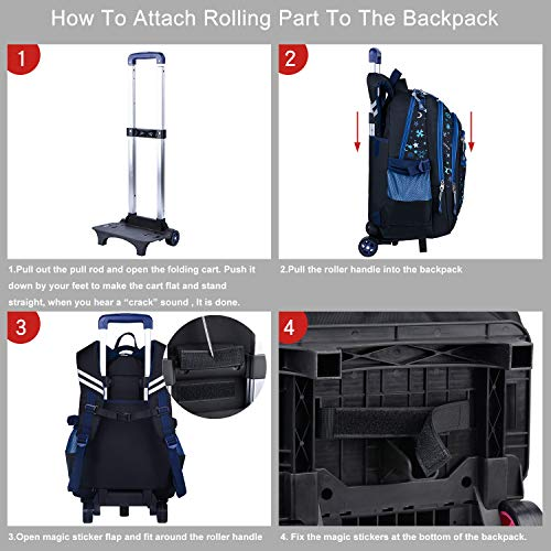 trolley rucksack coofit schultrolley schulrucksack. Black Bedroom Furniture Sets. Home Design Ideas