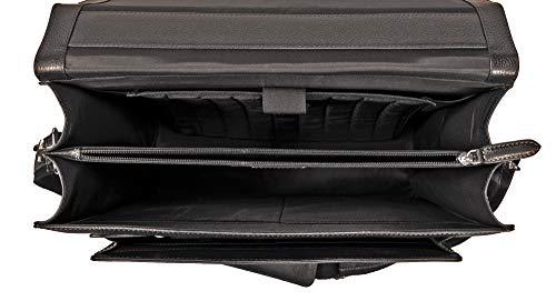 58bc8e8fd5c51 Fa.Volmer® Herren Echt-Leder Business-Tasche für Notebook  Bag16208 ...